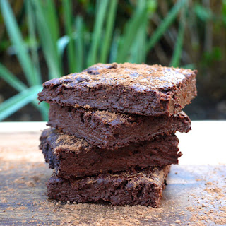 Fitness Fudge Brownies.