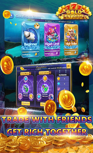 Gold Storm Casino - Asian Fishing Arcade Carnival 1.0.39 screenshots 5