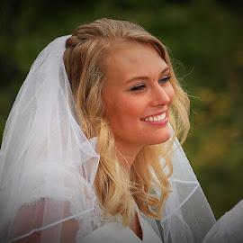 Beautiful Bride by Jessica Rose - Wedding Bride ( bride, sisterinlaw, beautifulbride, wedding, capturethemoment,  )