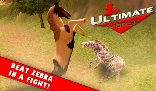 Wild Stallion Horse Simulator screenshot
