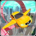 Flying Car Derby Crash Stunts & Car Racing icon