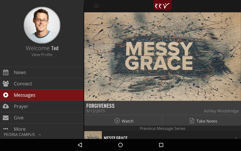 CCV Mobile App- screenshot