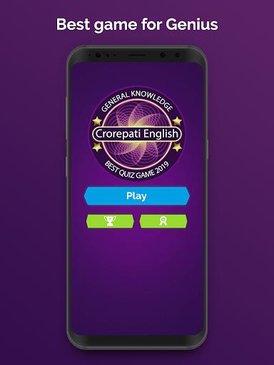 Ultimate KBC 2020 - GK IQ Quiz in Hindi & English  screenshots 6