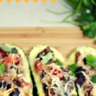 Zucchini Burrito Boats.