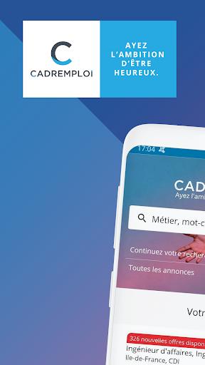 Cadremploi : Offres et Recherche du2019Emploi Cadre screenshots 1