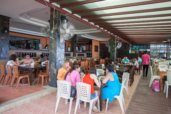 Lunch in the restaurant on Koh Phi Phi Don