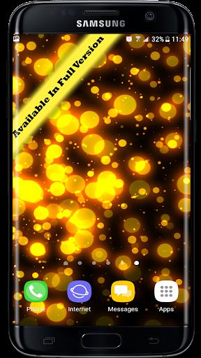Radiant Particles Glitters 3D Live Wallpaper  screenshots 4