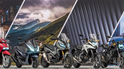 Honda a través de Motomoción AF anuncia siete novedades en su gama del 2021