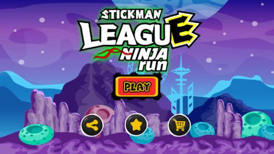 Stickman League Ninja Running - náhled