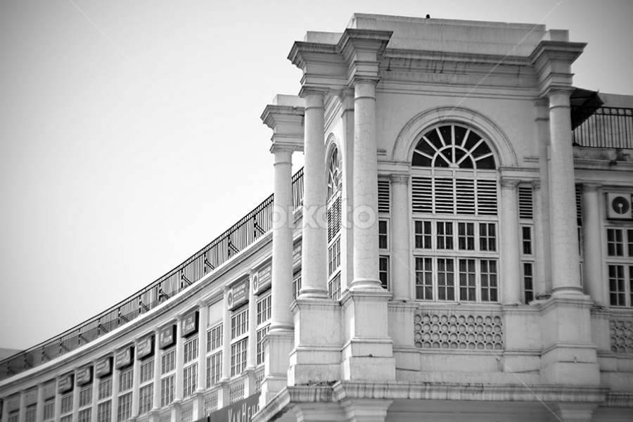 Vintage Architecture Design by Lutyens by Raviē Solanky - Buildings & Architecture Architectural Detail ( building, edwin lutyens, cannaught place, delhi )