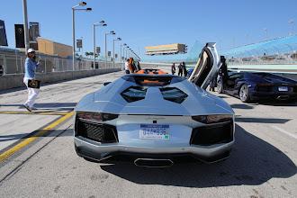 Photo: Lamborghini Aventador LP700-4 Roadster in Miami