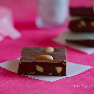Dark Chocolate Almond Fudge.
