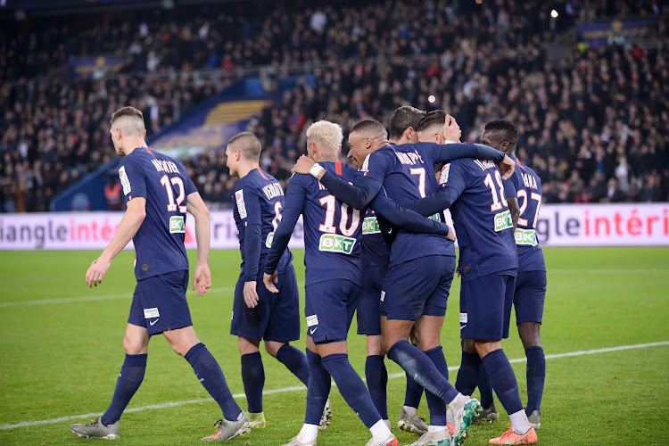 Le Paris Saint-Germain prend un avertissement de l'UEFA