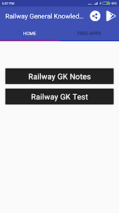 Railway General Knowledge - náhled