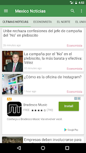 México Noticias - náhled