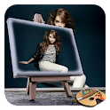 PIP Artist Sketch Photo Frame icon