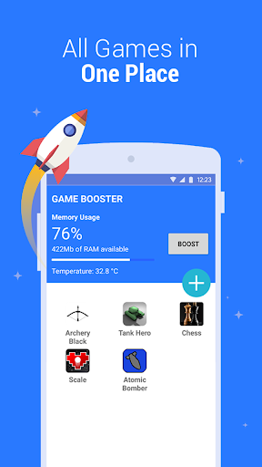Game Booster - Play Games Smoother and Faster 1.8 screenshots 4