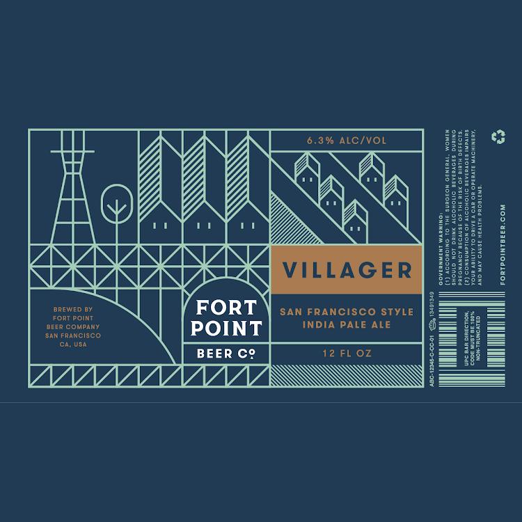 Logo of Fort Point Villager