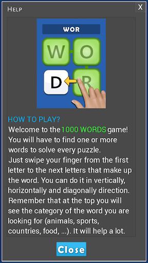 1000 Words 1.0.9 screenshots 20