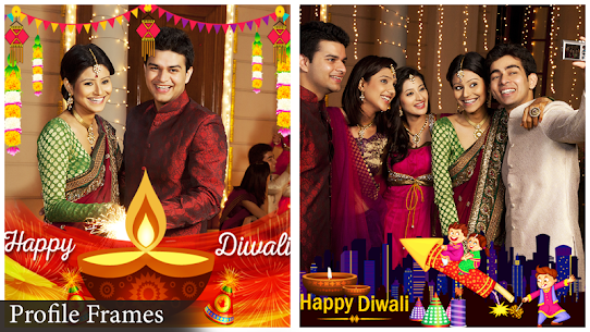 Happy Diwali Photo Frame 8