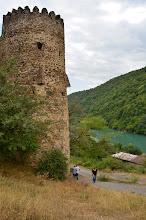 Photo: Kompleks Ananuri z XVII wieku