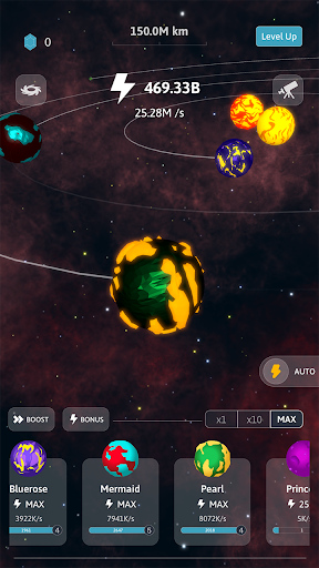 Idle Galaxy Creator apkmr screenshots 4