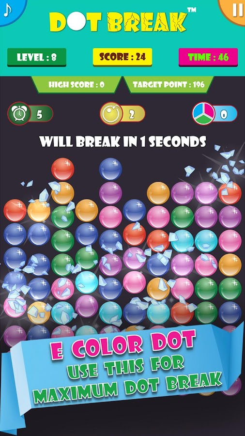 Dot Break™- screenshot
