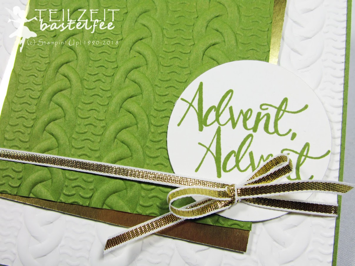 Stampin' Up! - Inkspire_me, Sketch Challenge, Advent, Malerische Weihnachten, Watercolor Christmas