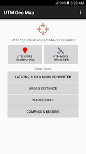 UTM Geo Map - náhled