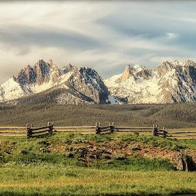 Heaven by Lisa Kidd - Landscapes Mountains & Hills