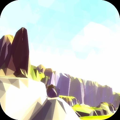 個人化必備App|上午懸崖3D動態壁紙自由 LOGO-綠色工廠好玩App
