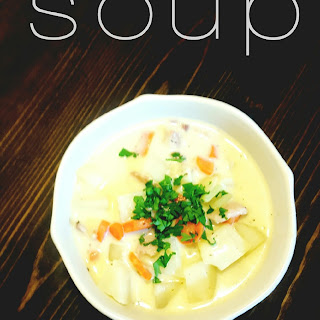 Bacon Potato Soup.