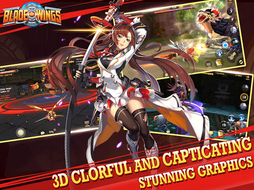 Blade & Wings: Future Fantasy 3D Anime MMORPG Game 1.8.8.1808021204.11 screenshots 4