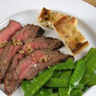 Zingy Lime Marinated steak