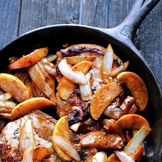 Apple Cinnamon Pork Chops.