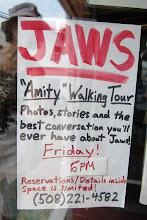 Photo: Tarjolla olisi ollut opastettu kävely Amityn (=Edgartown) pikkukaupungissa Tappajahain maisemissa - jätimme kuitenkin väliin :-)