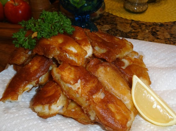 Beer Batter Fried Fish And Malt Vinegar -- Bonnie's Recipe