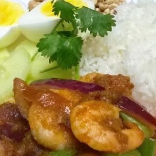 Malaysian Nasi Lemak - Coconut Rice
