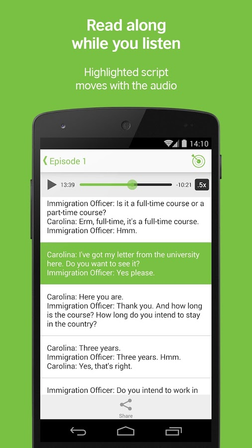 LearnEnglish Podcasts - Free English listening- screenshot