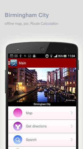 Birmingham City Map offline