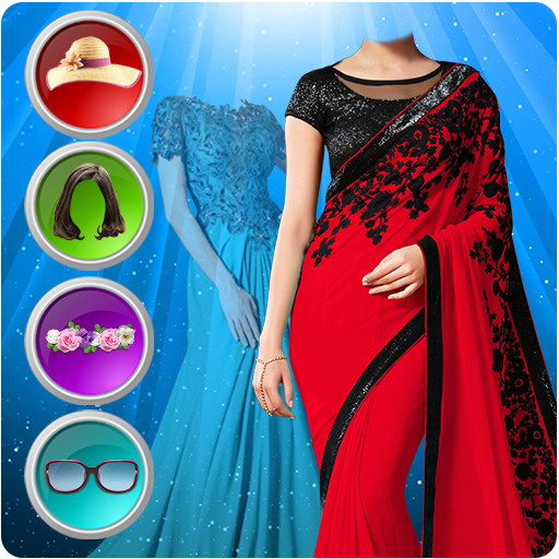 GIRLS PHOTO EDITOR - WOMEN SAREE & FASHION