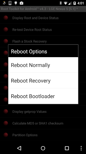 Root Toolkit for Android™ ss3