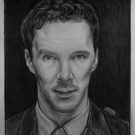 Sketch of Benedict Cumberbatch by Tanmoy Bauri - Drawing All Drawing ( marvel, drawing, tanmoy bauri, sketch, benedict cumberbatch )