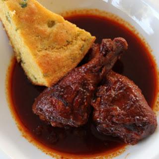Slow Cooker BBQ Chicken Legs.