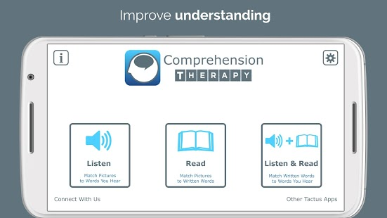 Comprehension Therapy- screenshot thumbnail