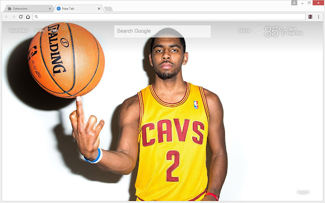 Overview NBA Basketball Themes With HD Wallpapers Of Kyrie Irving