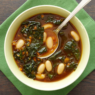 Cannellini Bean and Kale Soup.