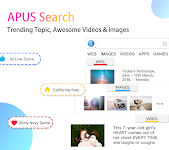 screenshot of APUS Launcher - Theme, Wallpaper, Hide Apps
