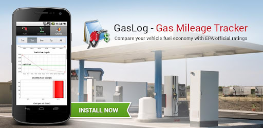gaslog gas mileage tracker apps on google play