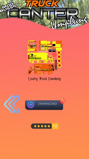 Mod Bussid Truck Umplung 1.0 screenshots 6